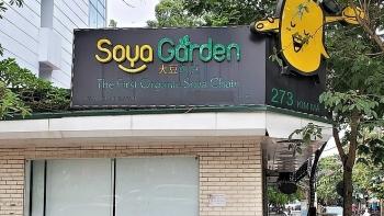 soya garden dong cua hang loat sau thoi gian ram ro